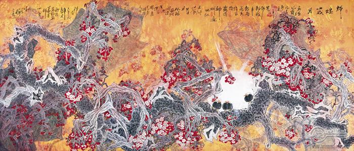 中国美协主席靳尚谊为团长的中国书画访问团赴澳门,泰国进行艺术交流